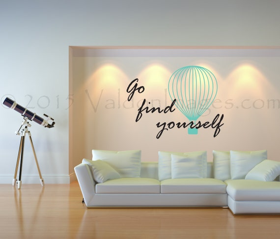 Travel Quote Wall Decal Motivational Wall Decor Boho Wall