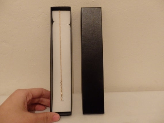 24 black necklace bracelet gift box wholesale job lot for 24 cardboard letters