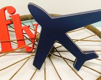 Custom Fly/Airplane set with Letters