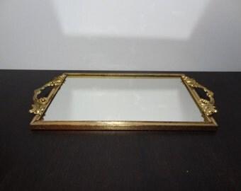brass filigree tray etsy