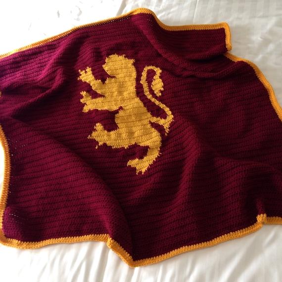 Items Similar To Harry Potter Crochet Throw Blanket