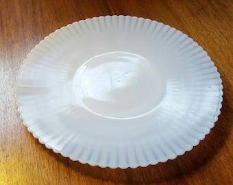 MacBeth Evans Petalware Cake Plate Server Platter