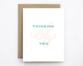 Sympathy Card - Thinking of You