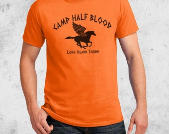 Camp Half Blood Percy Jackson Halloween Costume T-shirt Adult Youth sizes Short Sleeve or Long Sleeved