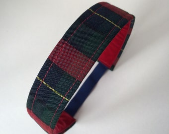 School Uniform Headband- Custom Plaid Uniform Headbands #25
