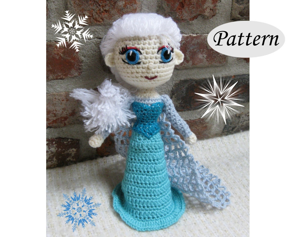 Free Crochet Pattern Elsa Cape : Chandeliers & Pendant Lights
