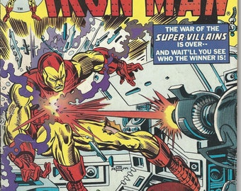 Vintage Marvel The Invincible Iron Man Comic Book #77