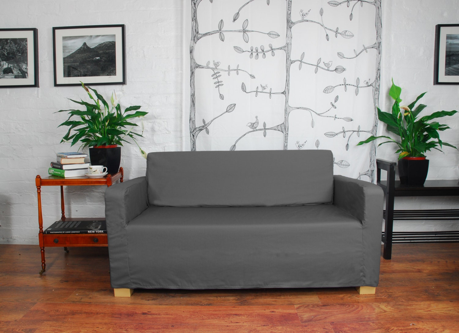 ikea solsta sofa bed slip cover in 20 colours available. Black Bedroom Furniture Sets. Home Design Ideas