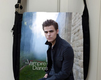 Vampire Diaries Stefan Inspired Messenger Bag / Purse