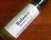 Balance essential oil synergy - Hormone balancing blend for women - ready to use essential oil synergy, easy, mess-free application.