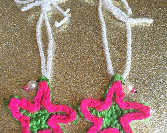 Crochet Barefoot Sandals ~star fish