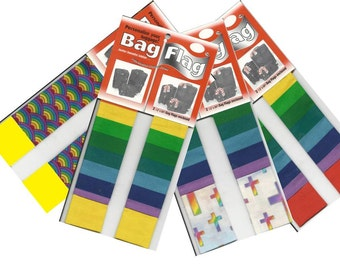 Gay Pride - Luggage Tags - BagFlags - Handmade