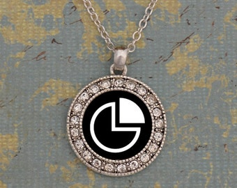 Business and Economis Club Round Necklace