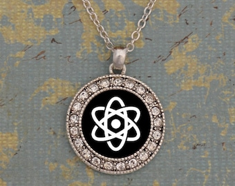 Science Club Round Necklace
