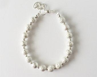 Shimmer and Shine Silver Bracelet