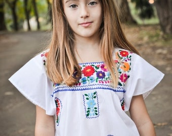 Girl Mexican Dress