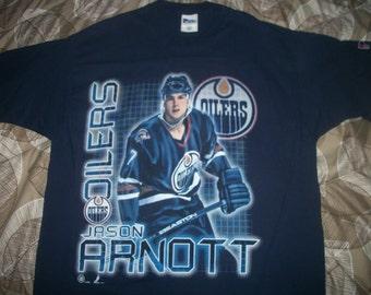 Jason Arnott EDMONTON OILERS t shirt 1996