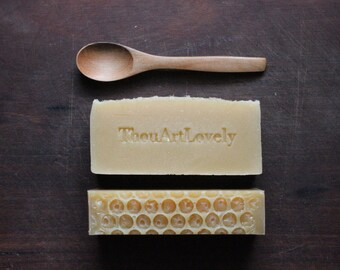 Organic Almond Milk And Honey| Handmade Soap
