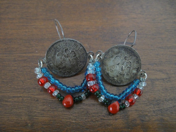 mexican earrings traditional traditional mexican earrings 197 by mudseasonzombie on etsy 4751
