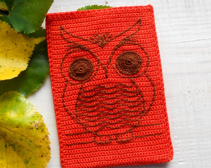 Graduation Gift, iPhone 6 Case, One of a kind gift, Cute owl, Brown owl, Original orange iPhone 6 case,Nature iPhone case, Gift for Teacher