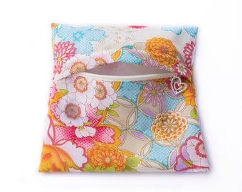 Cloth Pads Wetbag - Orient floral