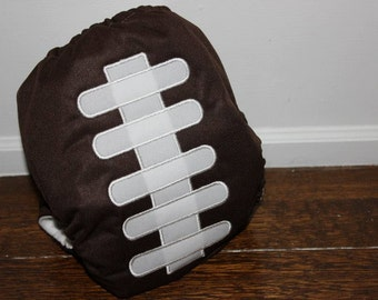 Football Cloth Diaper