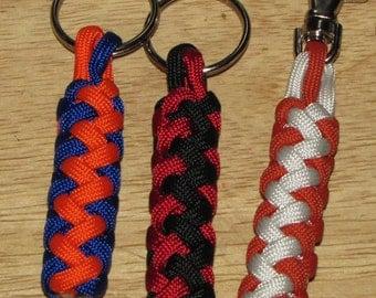 Paracord Key Fob, Gaucho Knot