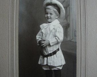 Cabinet Card Toddler