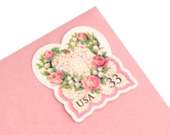 20 Victorian Heart Love Stamps - 33c - 1999 - Unused Love Postage - Quantity of 20