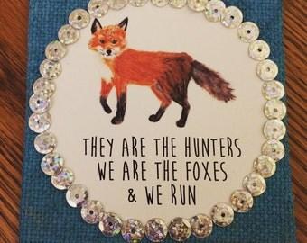 "4"" Magnet - We Run"