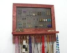 Earring Holder, dangle earring holder Jewelry Hanger OOAK