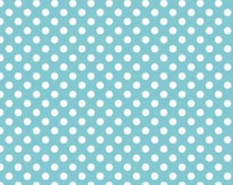 Small Dots Aqua by Riley Blake