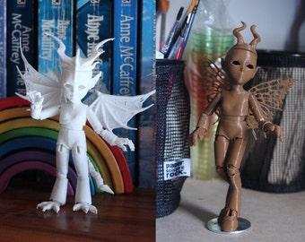 3D Printed BJD Creature Creator Kit
