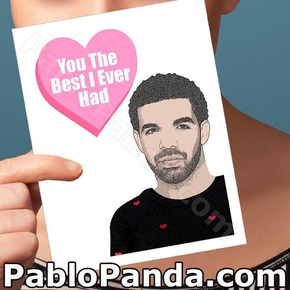 Drake card funny birthday anniversary bday by pablopanda