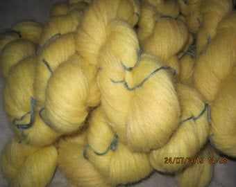 Icelandic pure wool, hand dyed with Lupinus nootkatensis-050715-3