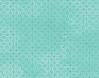 Evergreen Fabric. Let it Snow in Blue Winter, Christmas Fabric from Basic Grey and Moda, Holiday Fabric