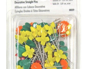 "1 1/2"" Singer Decorative Straight Pins - 00359"