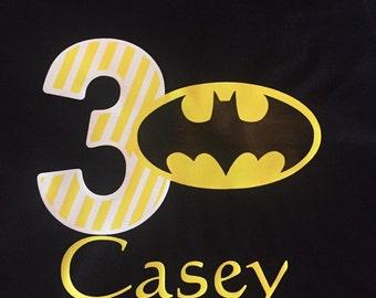 Batman birthday shirt!