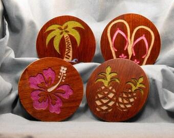 Tropical Coaster set