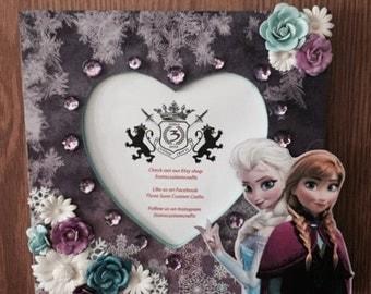 Custom Elsa and Anna Frozen Frame