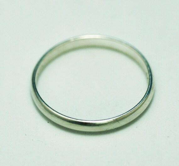 platinum ring 4 gr 185 best price new size 6 width 3 mm