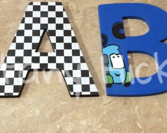Disney Cars letters