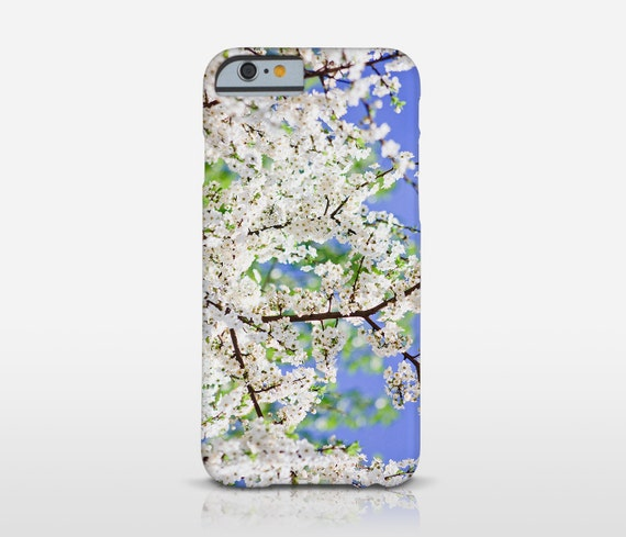 Cherry Blossom Cell Case, iPhone 7 Plus Case, Floral Phone, Tree Phone Cover, Iphone 6, Galaxy S6