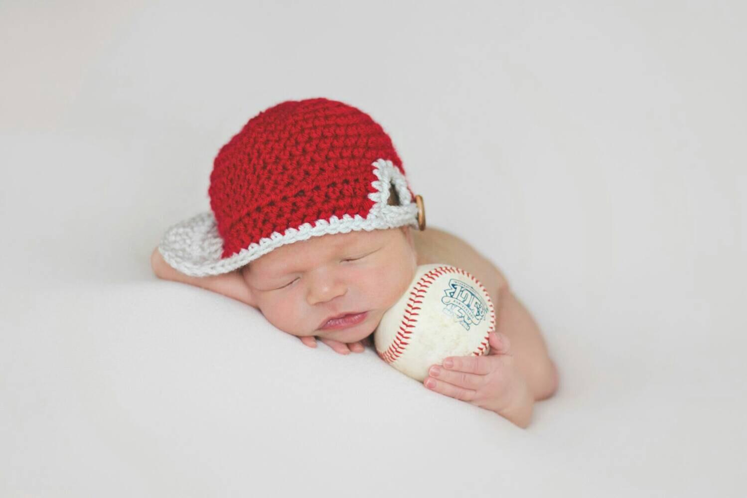 ready to ship newborn baseball hat newborn baseball cap