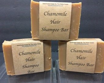 Chamomile Hair Shampoo Bar