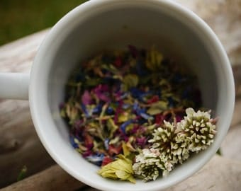 Fleur de miel - Hop herbal tea with wild gaspesian flowers; summer time and relaxing (15g)