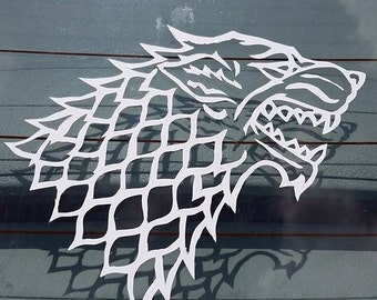 Game of Thrones House Stark Sigil Vinyl