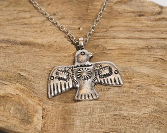 Native 'Cherokee Thunderbird' Necklace