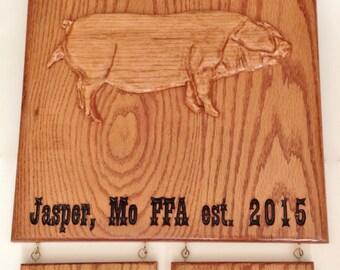 Youth FFA Livestock Sign