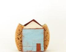 Sponge Holder-Napkin Holder- Tin House-Ceramics And Pottery